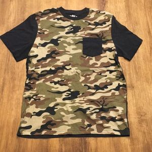 Other - Camo Graphic T Shirt